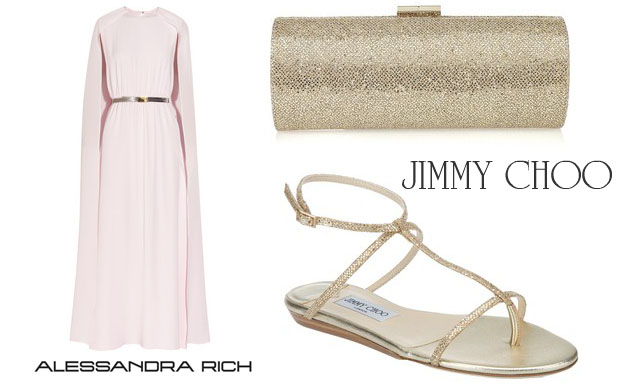 Sonam Kapoor In Alessandra Rich & Jimmy Choo