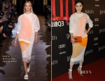 Song Jia In Stella McCartney - Grazia's 100th Issue Celebration
