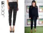 Sophia Bush's Joe's Jeans Plaid Skinny Pants
