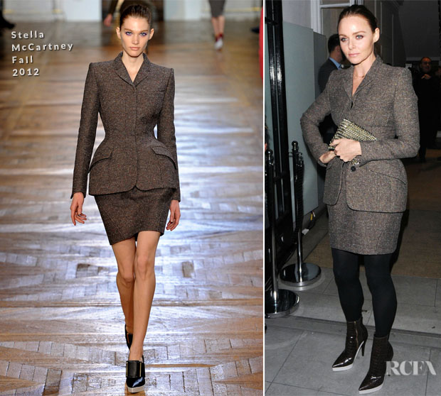 Stella McCartney In Stella McCartney - Stella McCartney Mayfair Christmas Light Switch On