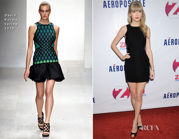 Taylor Swift In David Koma – Z100's Jingle Ball 2012