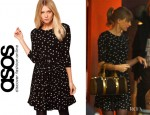 Taylor Swift's ASOS Skater Dress With Hummingbird Print