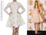Taylor Swift's Maria Lucia Hohan Long Sleeve Cotton Lace Dress