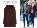 Taylor Swift's Topshop Tall Textured Parka Coat