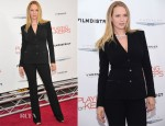 Uma Thurman In Atelier Versace - 'Playing for Keeps' New York Premiere