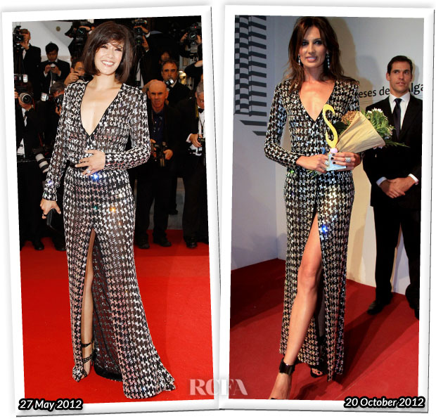 Who Wore Emilio Pucci Better Melanie Doutey or Nieves Alvarez
