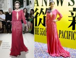 Xingtong Yao In Georges Hobeika Couture - 55th Asia-Pacific Film Festival