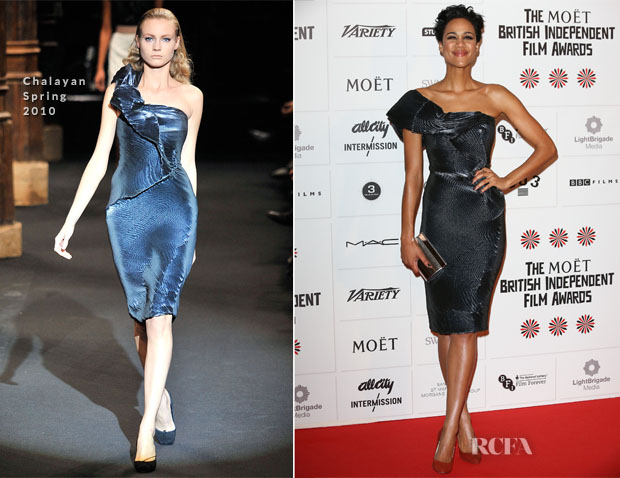 Zawe Ashton In Chalayan - British Independent Film Awards 2012