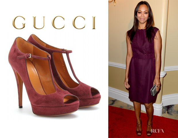 Zoe Saldana's Gucci Betty Mary Jane Pumps