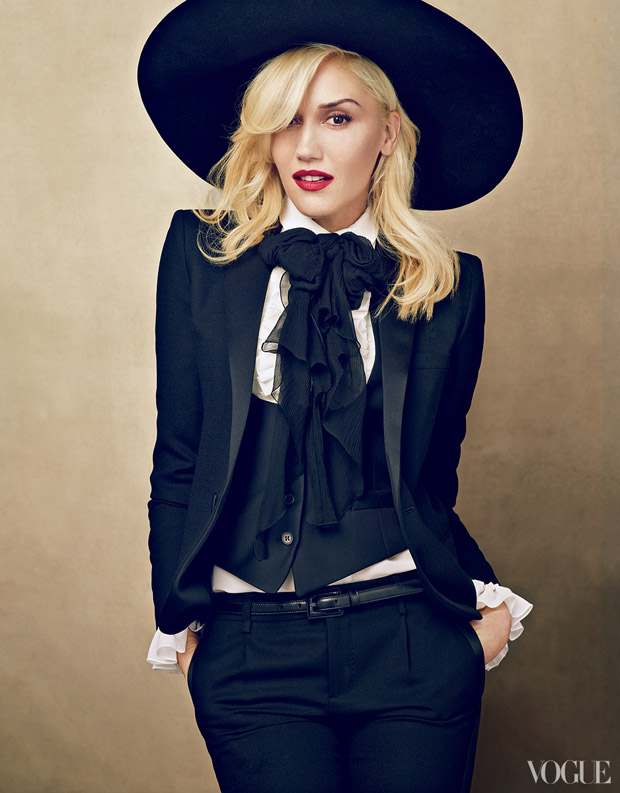 Gwen Stefani in Saint Laurent