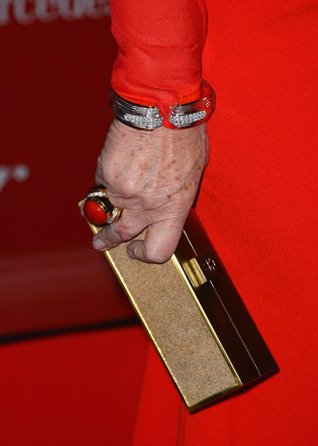 Helen Mirren's clutch