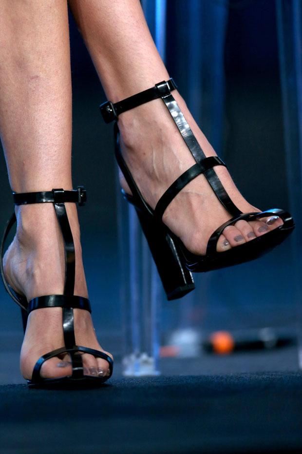 Karolina Kurkova's Alexander Wnag sandals