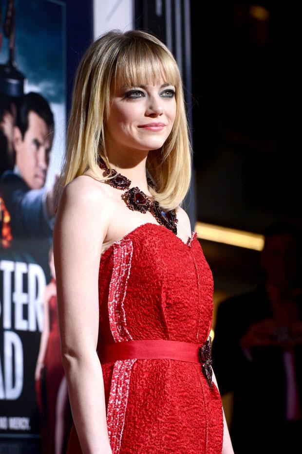 Emma Stone in Lanvin