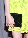 Chloe Moretz' Smythson clutch