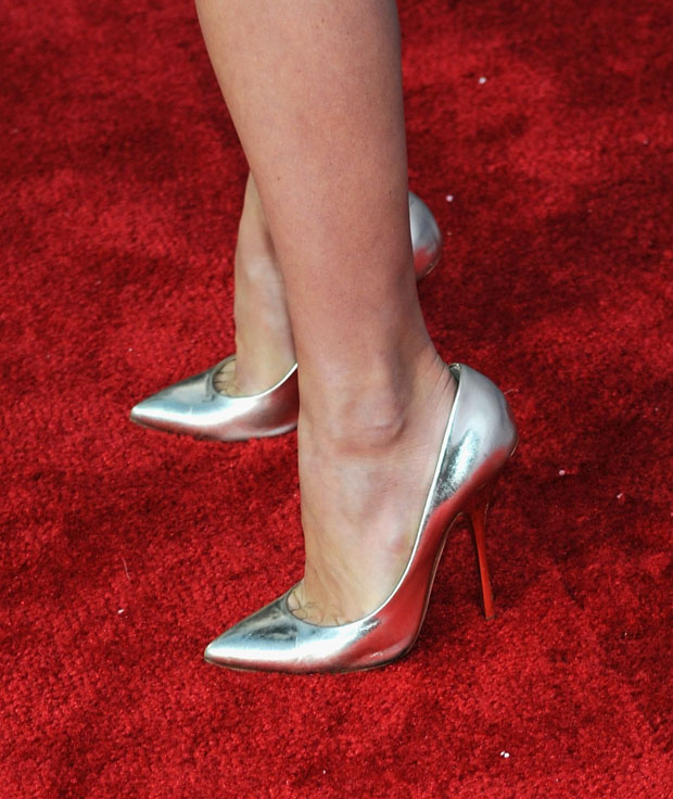 Julianne Hough's Guiseppe Zanotti shoes
