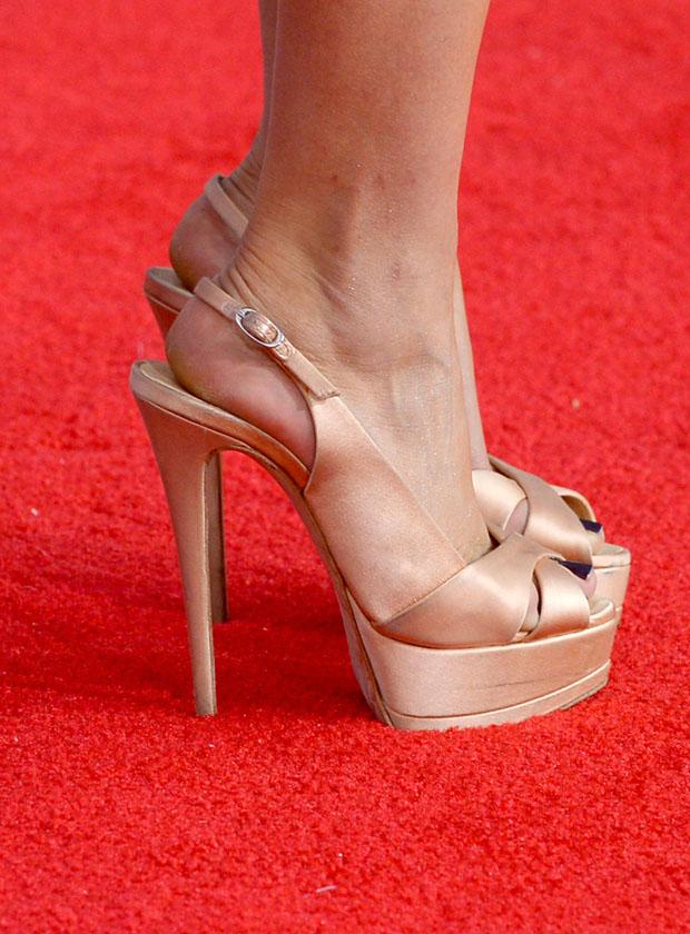 Kaley Cuoco's Giuseppe Zanotti sandals