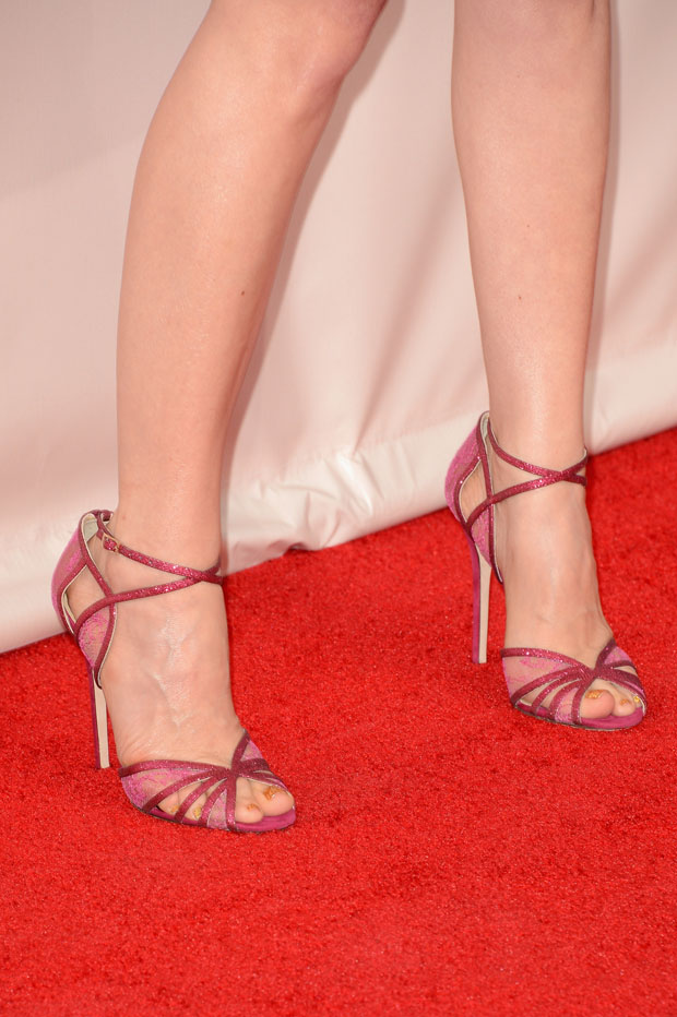 Leslie Mann's Jimmy Choo 'Fitch' sandals