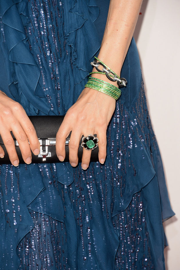 Famke Janssen's accessories