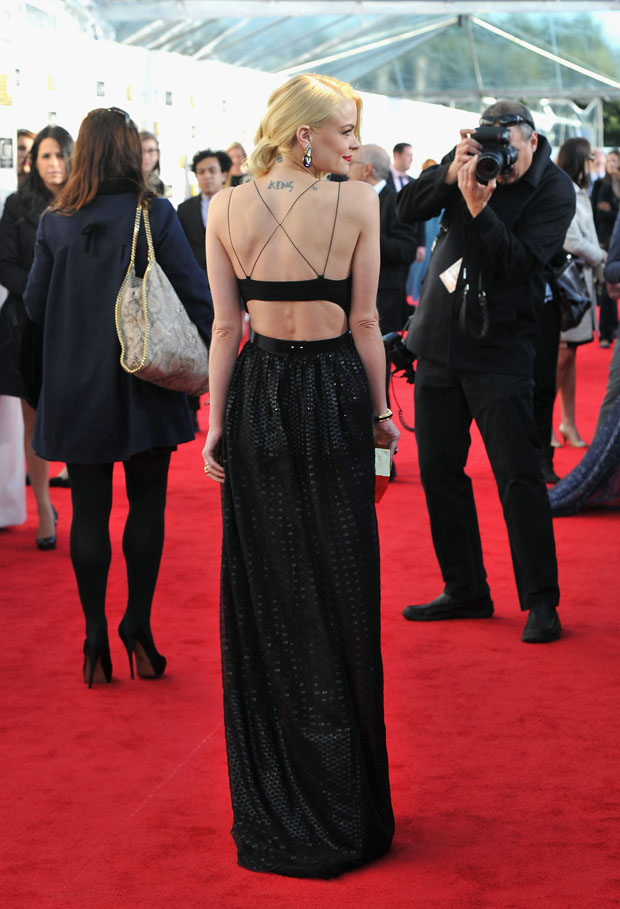 Jamie King in Jason Wu