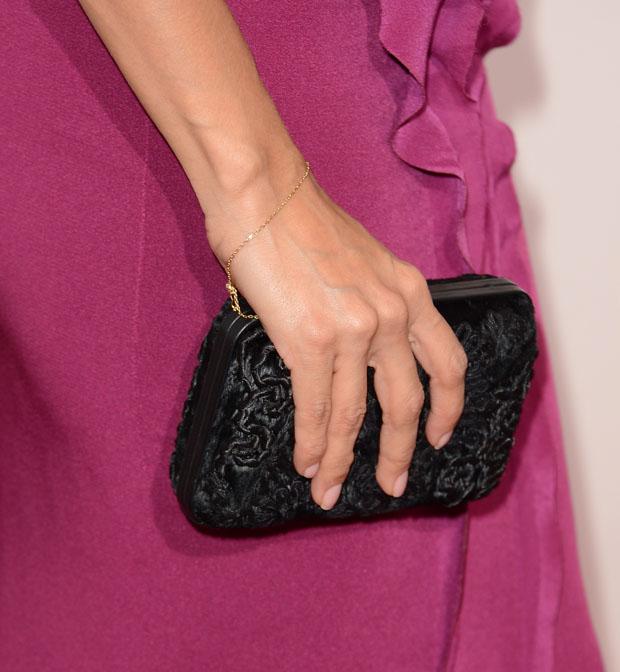 Eva Longoria's Ferragamo clutch