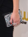Jennifer Lawrence's Roger Vivier frame crystal clutch
