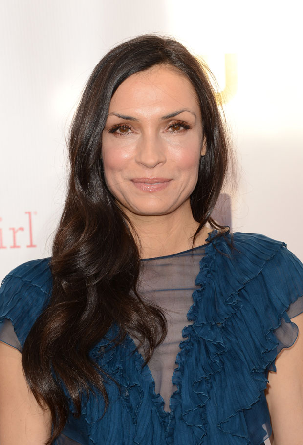Famke Janssen in John Galliano
