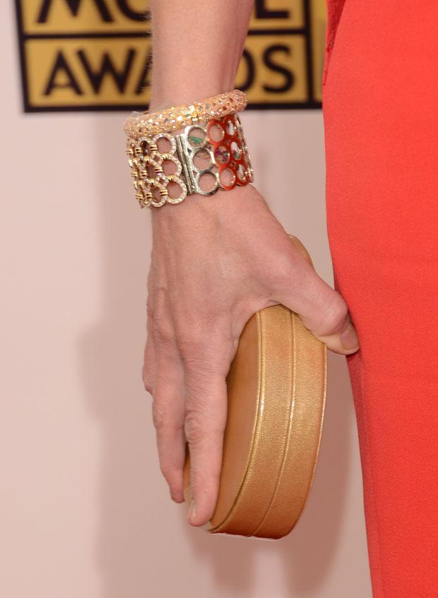 Helen Hunt's Lauren Merkin 'Lucca' clutch