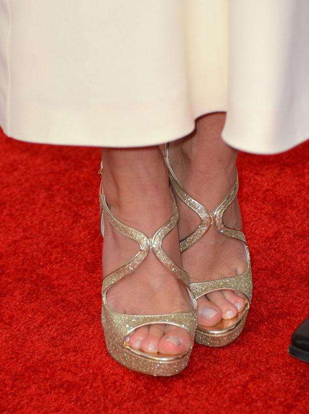 Emily Blunt 2013 Critics Choice Movie Awards Red