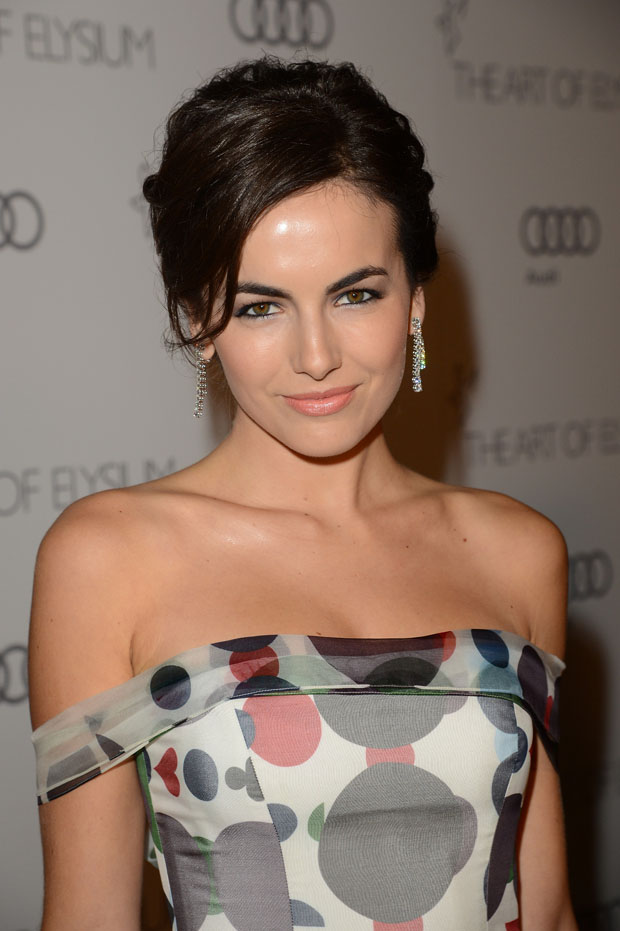 Camilla Belle 2013 Art Of Elysium Heaven Gala Red