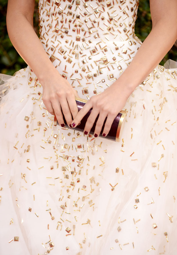 Julianne Hough's Ferragamo clutch