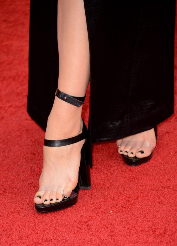 Katharine McPhee's sandals