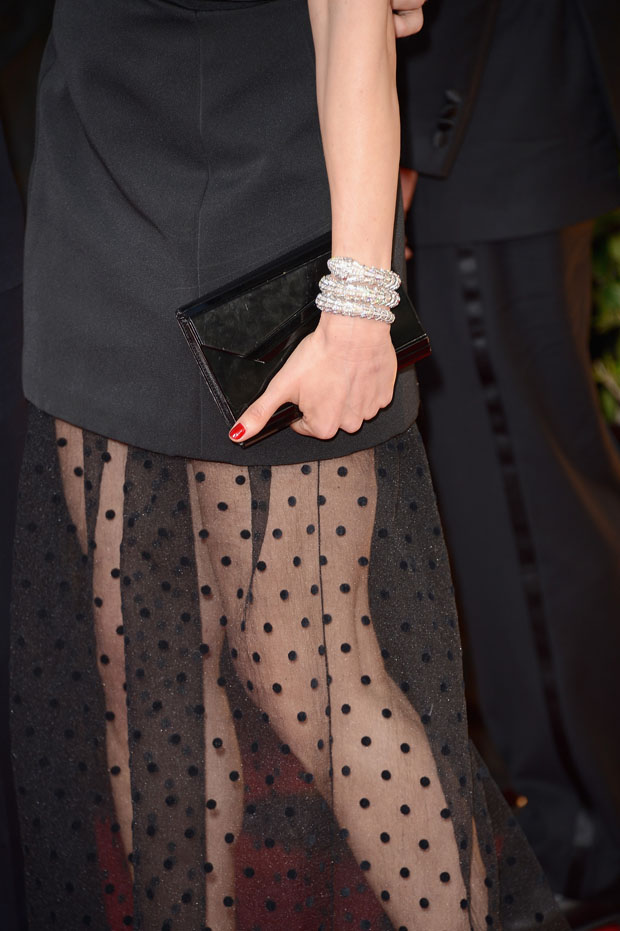 Rachel Weisz' Jimmy Choo clutch