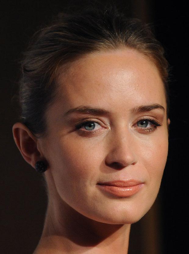 Emily Blunt in Alexander McQueen