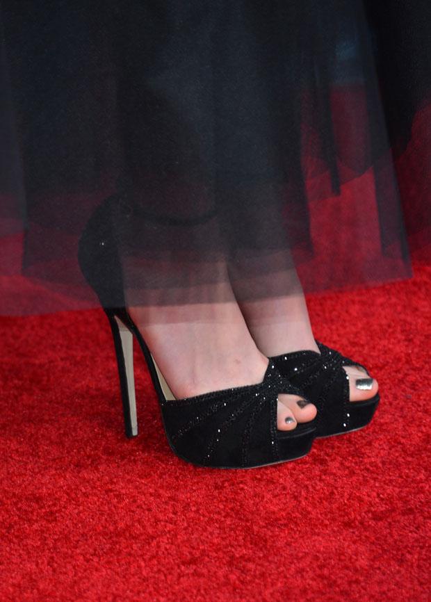 Anne Hathaway's Jimmy Choo heels