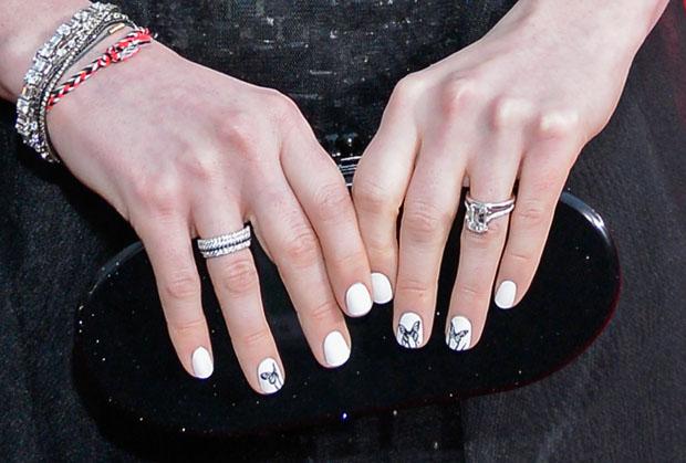 Anne Hathaway's Edie Parker clutch