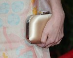Rose Byrne's Jimmy Choo clutch