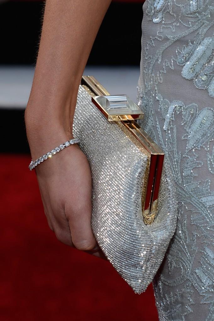 Katrina Bowden's clutch