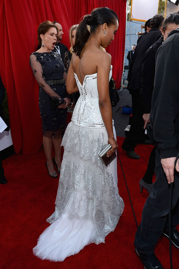 Kerry Washington in Rodarte