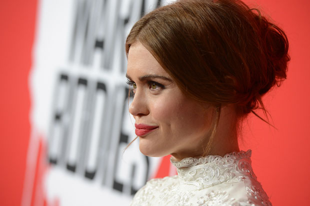 Holland Roden in Alice + Olivia