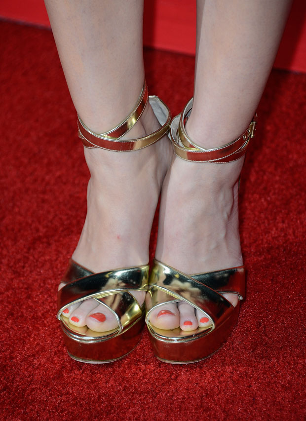 Holland Roden's Jerome C. Rousseau sandals