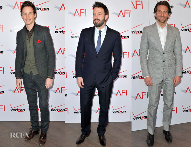 2013 AFI Awards Menswear Carpet Round Up