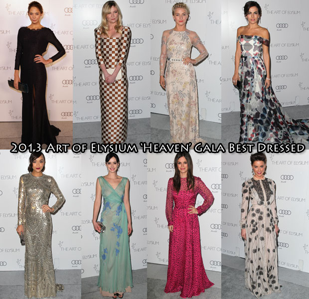2013 Art of Elysium 'Heaven' Gala Best Dressed