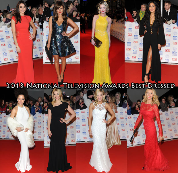 2013 National Television Awards Best Dressed
