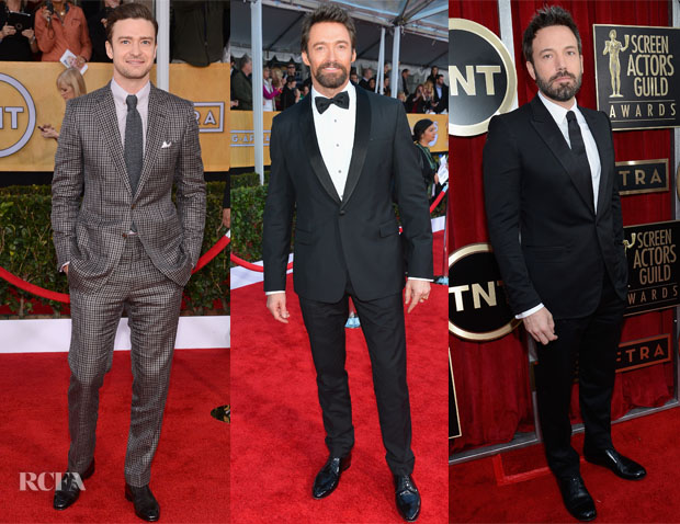 2013 SAG Awards Menswear Round Up 2