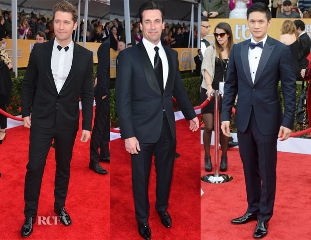 2013 SAG Awards Menswear Round Up 3