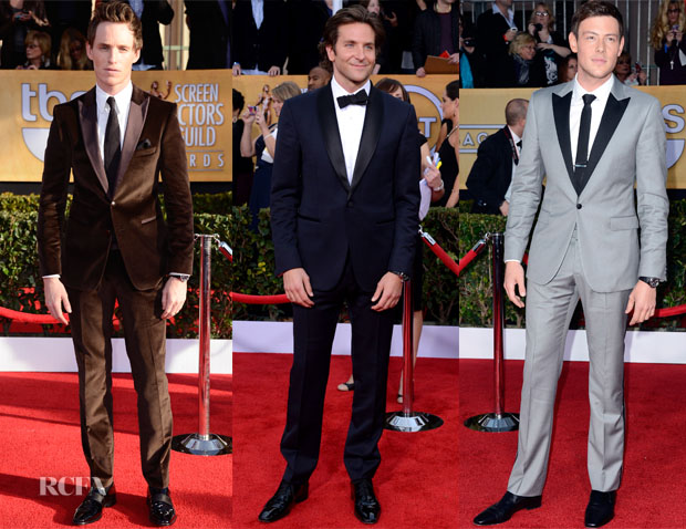 2013 SAG Awards Menswear Round Up