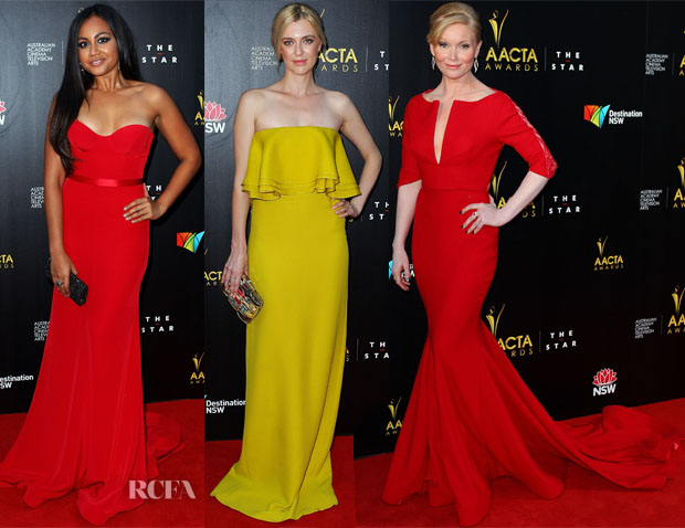 2nd Annual AACTA Awards Red Carpet Round Up
