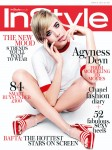 Agyness Deyn For InStyle UK March 2013