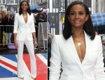 Alesha Dixon In Alexander McQueen - Britain's Got Talent London Auditions