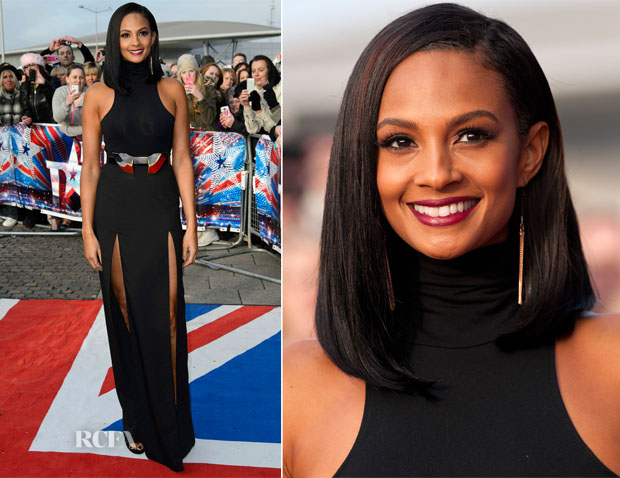 Alesha Dixon In Aqua - Britain's Got Talent Cardiff Auditons